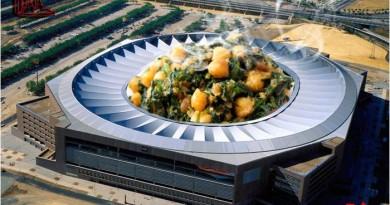 Cazuela récord Guiness de espinacas con garbanzos en el Estadio Olímpico