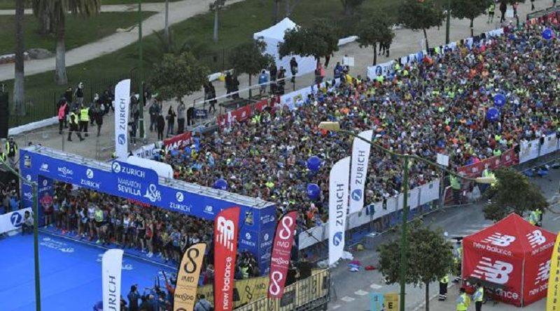 """El ganador del Maratón de Sevilla estaba haciendo un """"sinpa"""""""