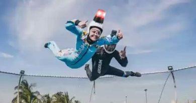 Los usuarios de Aerodium deberán llevar luz en el casco para que sean vistos por los aviones