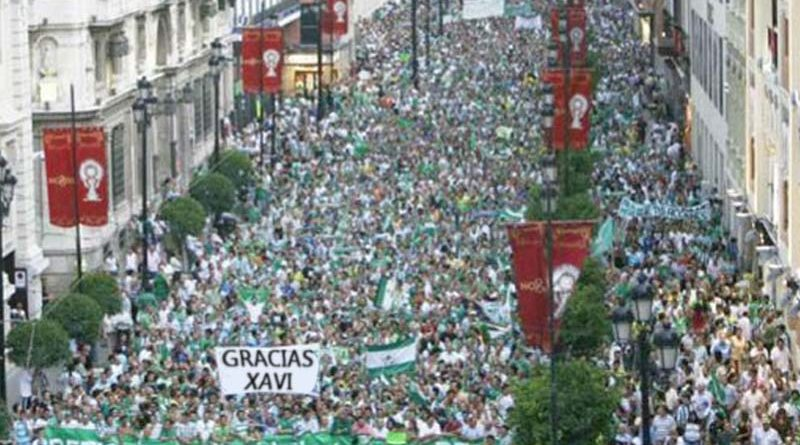Miles de béticos escoltarán a Setién hasta Barcelona para que no se pierda