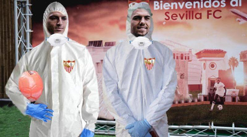 El Sevilla FC presenta la equipación especial para medirse contra La Roma