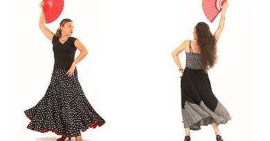 Academia enseña a bailar sevillanas guardando un metro y media de distancia