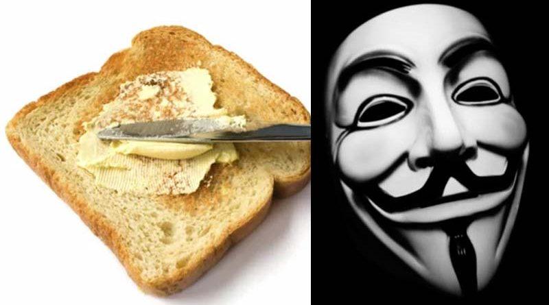 Anonymous saca a la luz el listado de sevillanos que se hacen tostada con pan Bimbo