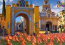 La Macarena aparece con 45.566 banderas de España en homenaje a las víctimas de Queipo de Llano